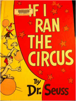 Dr Seuss If I Ran The Circus Book Cover